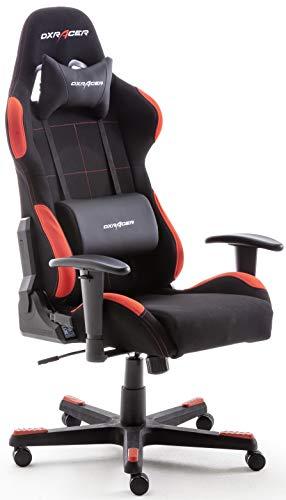 Chaise de bureau Robas Lund DX Racer 1 (OH/FD01/NR) - noir/rouge