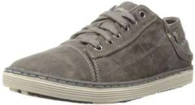 Skechers Sorino Berg gris ou marron, Baskets mode homme (taille 39 à 46 )