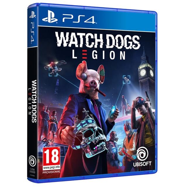 Watch Dog Legion sur PS4 - Boiter IT / Jeu FR (+5€ en Rakuten Points)