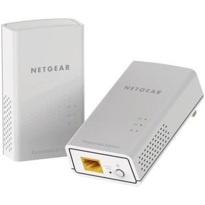 Pack de 2 CPL Netgear PL1000-100PES - 1000 Mbit/s, 1 port Gigabit