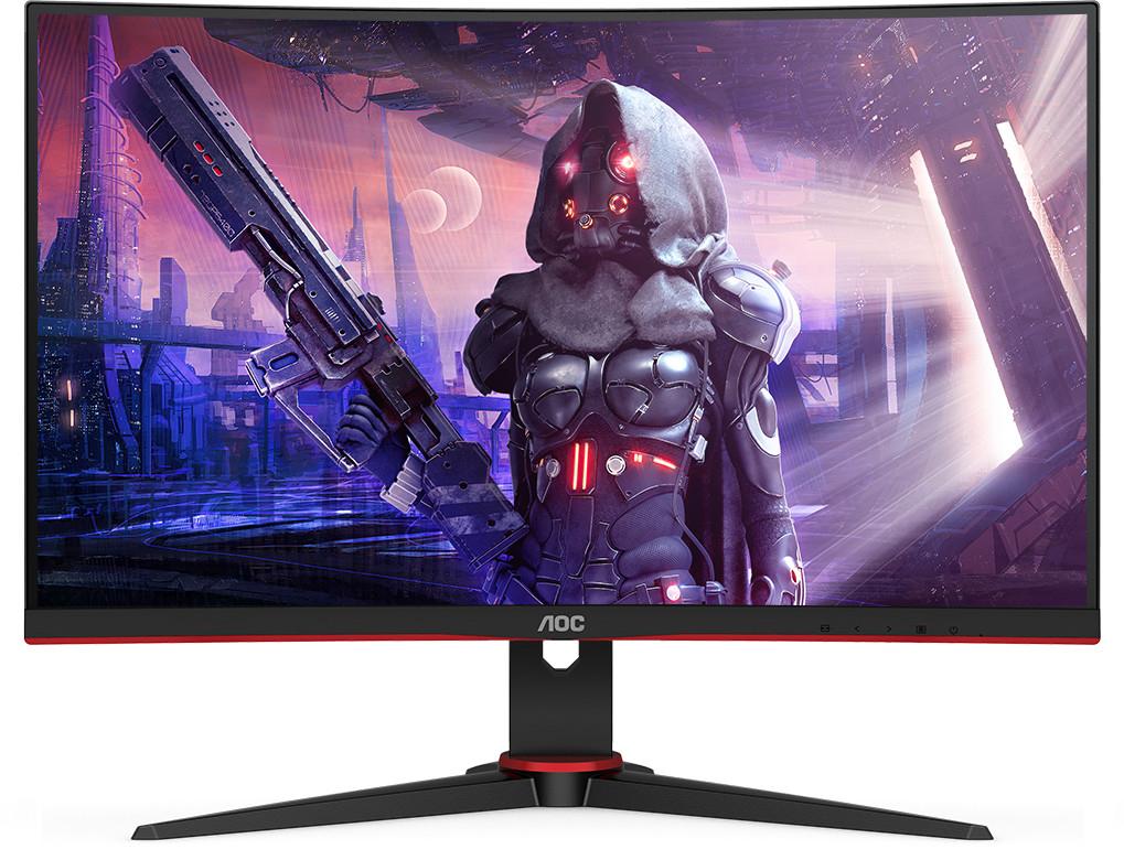 "Écran PC incurvé 23.6"" AOC C24G2AE - full HD, WLED VA, 165 Hz, 1 ms, FreeSync Premium"