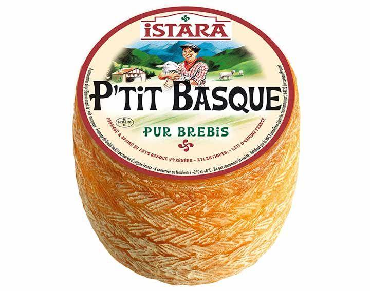 Fromage tomette entière Istara P'tit Basque (via Shopmium) - Ex : tommette de 600 g