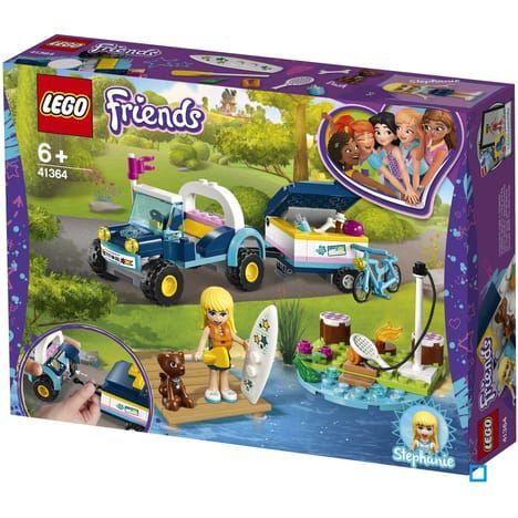 Jeu de construction Lego friends - Le buggy et la remorque de Stéphanie n°41364
