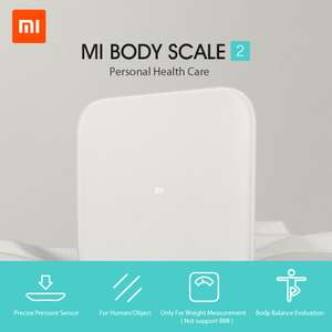 Balance connectée Xiaomi Mi Smart Scale 2 - Bluetooth 5.0 LE