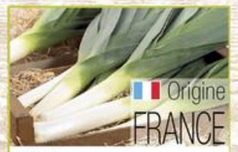 Poireau (Origine France) - le kg