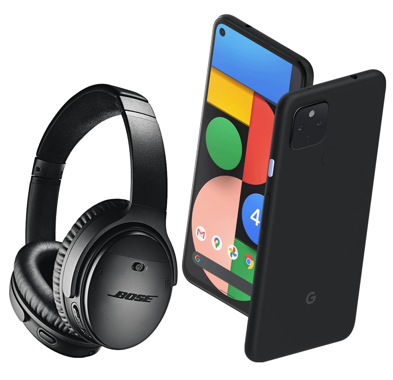 "[Précommande] Smartphone 6.2"" Google Pixel 4a (5G) - 128Go + Casque Bose QC 35 II (Via Formulaire)"