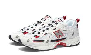 Chaussures New Balance Baskets 827 - Blanc / Rouge, Tailles 42 à 45.5