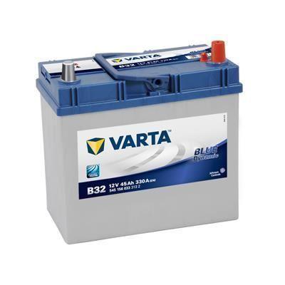 Batterie de voiture Varta B32 - 12V, 45AH, 330A