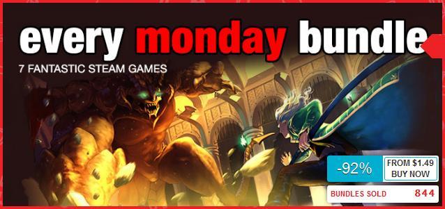 Every Monday Bundle - 7 jeux RPG (Dématérialisés - Steam)