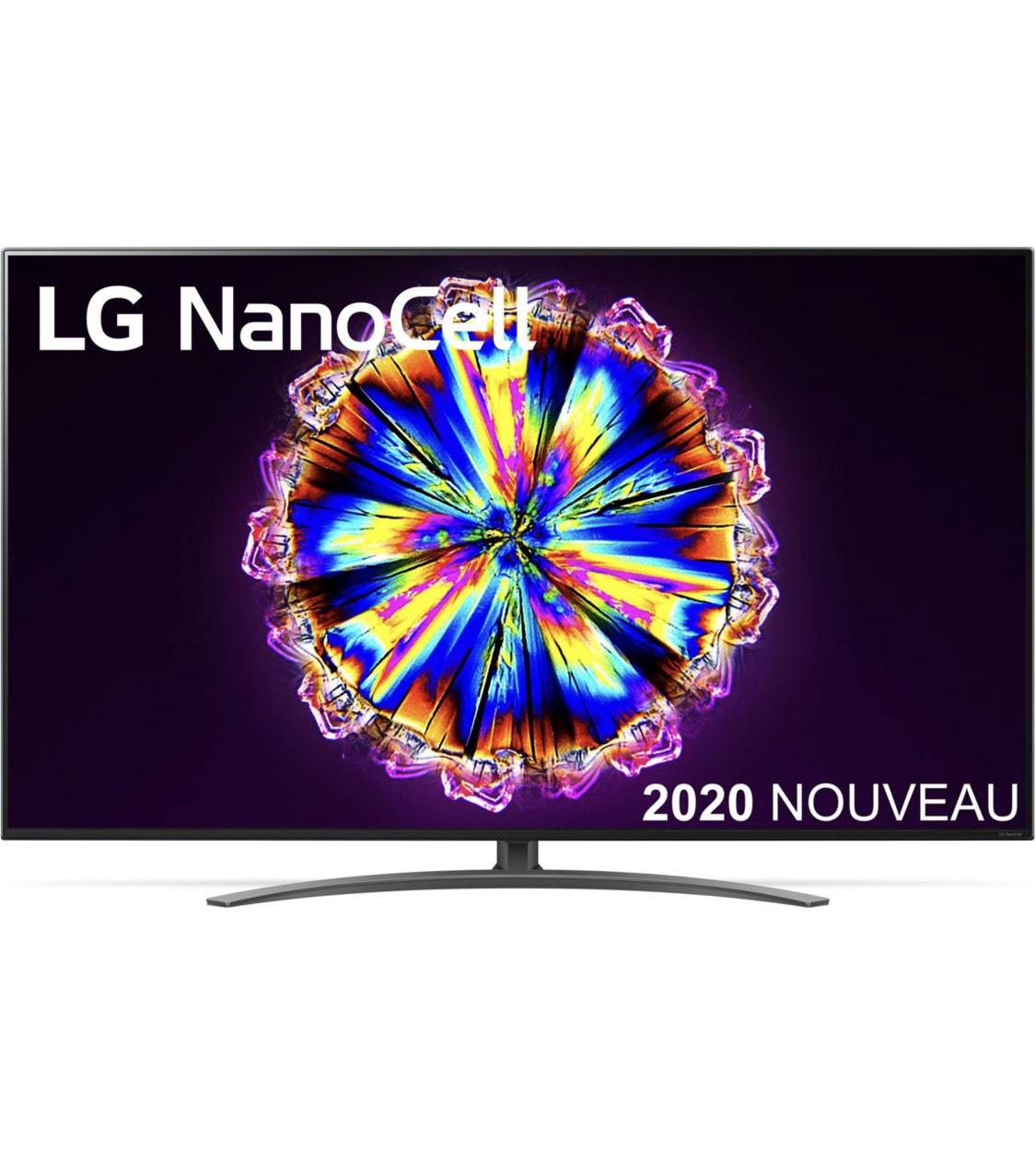 """TV LED 55"""" LG NanoCell 55NANO916 - Full LED, 4K UHD, Smart TV + Ecouteurs LG Tone Free FN6"""