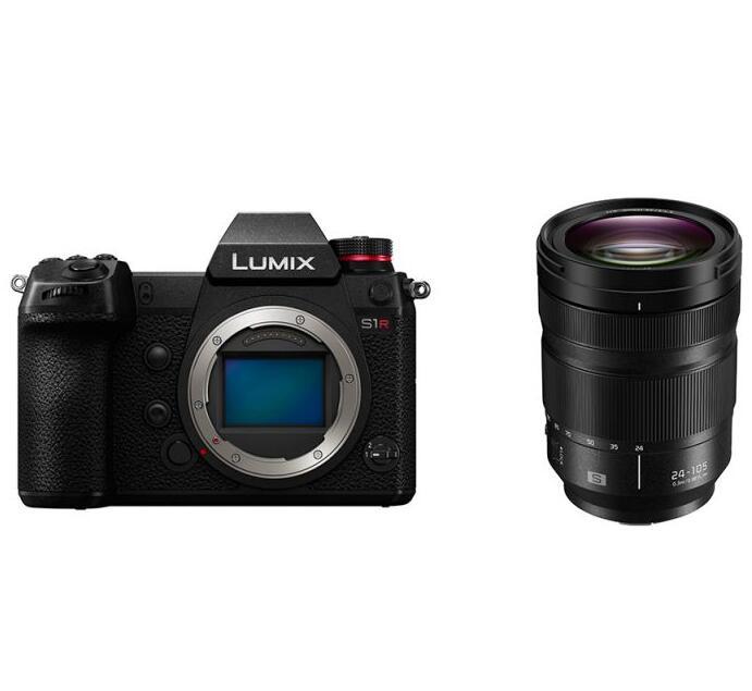 Sélection de produits en promotion - Ex: Appareil photo Panasonic Lumix S1R + Objectif Lumix S 24-105 F/4.0 (panajou.fr)