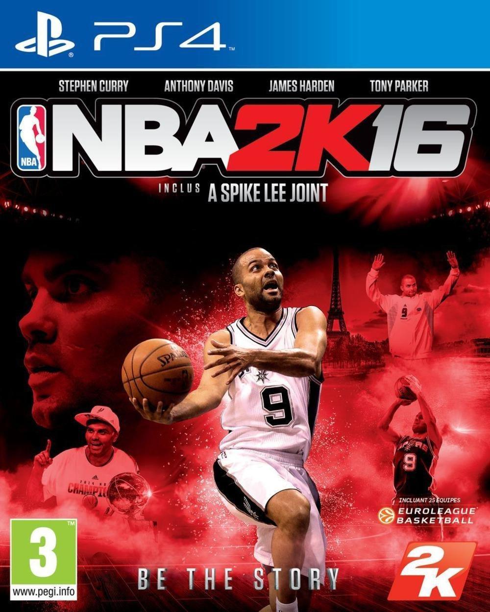 NBA 2K16 sur Xbox One à 31,84€ et PS4