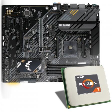Kit upgrade configurable : Processeur AMD Ryzen 7 5800X + Carte mère Asus TUF B550-Plus gaming