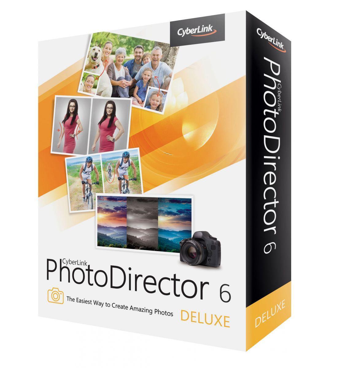 Logiciel CyberLink PhotoDirector 6 Deluxe gratuit (au lieu de 49.99€)