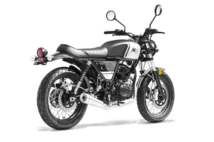 Moto ORCAL NK01 - 125cm3, Noir (Orcal Motor)