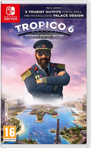 Jeu Tropico 6 sur Nintendo Switch (Dématérialisé, eShop russe)