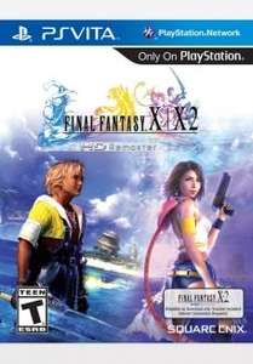 jusqu'a 50% de réduction sur une sélection de jeux  - Ex: Final Fantasy X sur PsVita