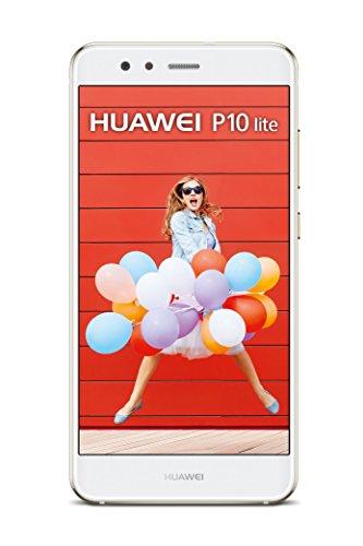 "Smartphone 5.2"" Huawei P10 Lite - Full HD, Kirin 658, RAM 4 Go, ROM 32 Go, Double SIM, Blanc"