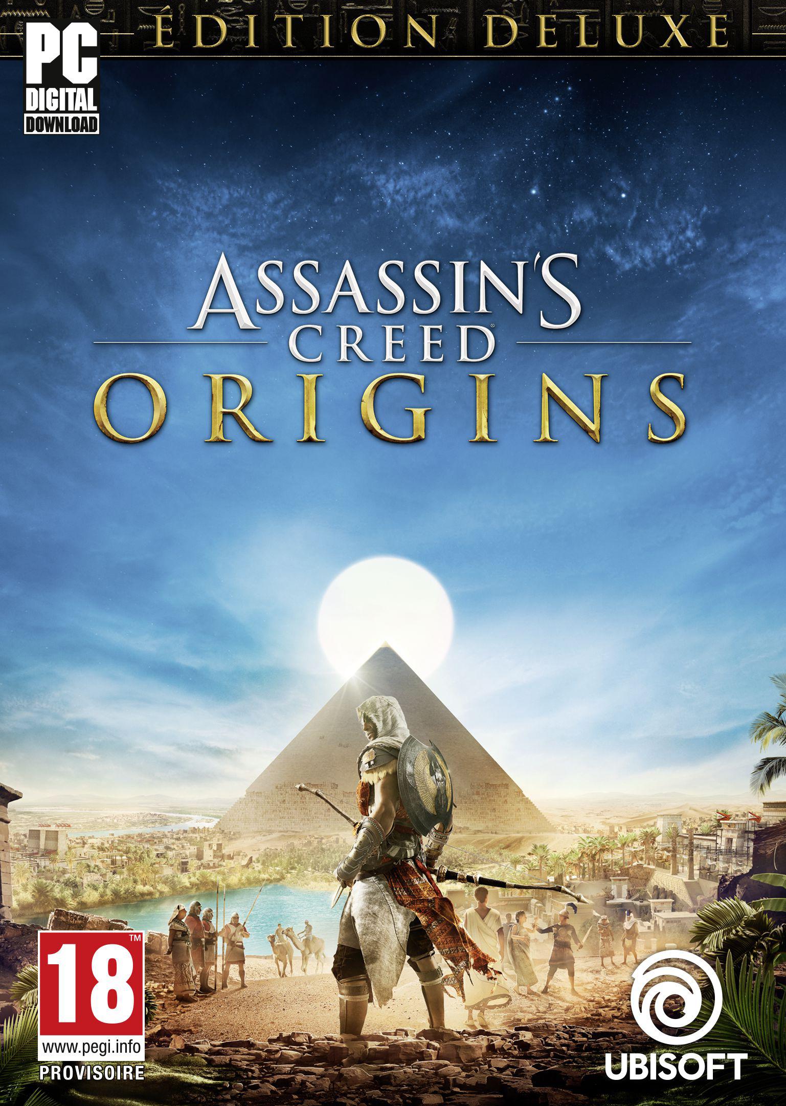 Assassin's Creed Origins - Deluxe Edition sur Pc (Dématérialisé)