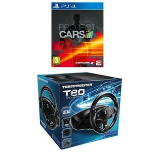 Pack Volant ThrustMaster T80 + Project Cars sur PS4