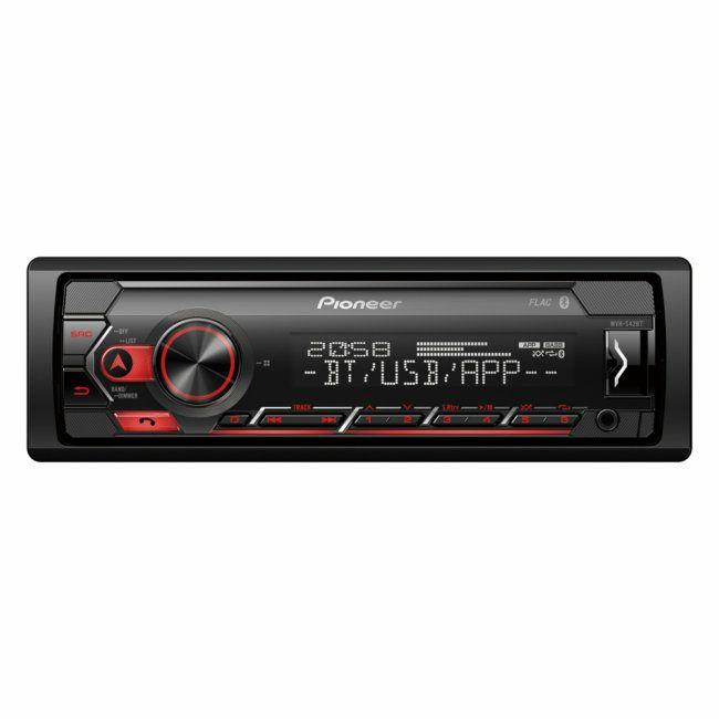 Autoradio Pioneer MVH-S42BT - Bluetooth / USB / Spotify / Smart Sync (Via retrait en magasin)