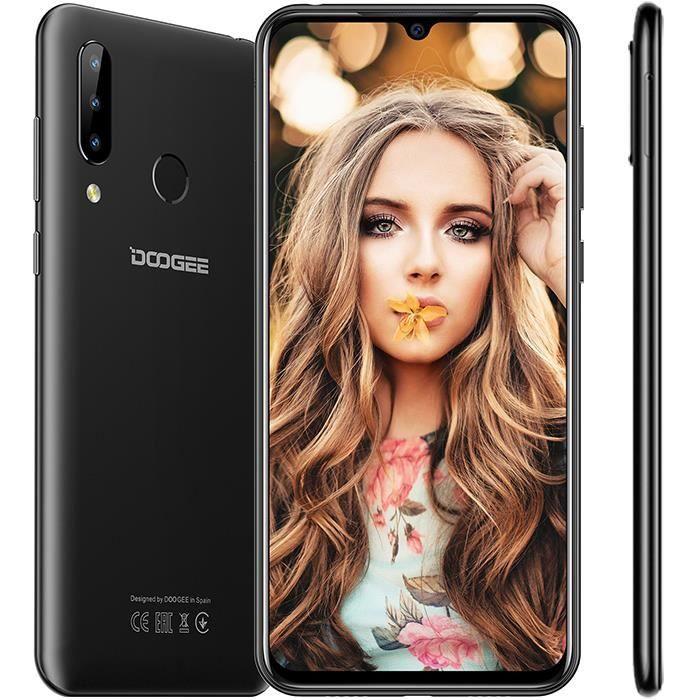 "Smartphone 6.3"" Doogee N20 - 4 Go RAM, 64 Go (Vendeur Tiers)"