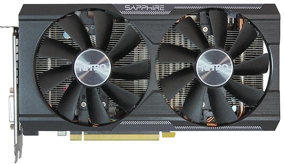 Carte graphique Sapphire AMD Nitro R9 380 Dual-X OC (UEFI) - 4 Go GDDR5