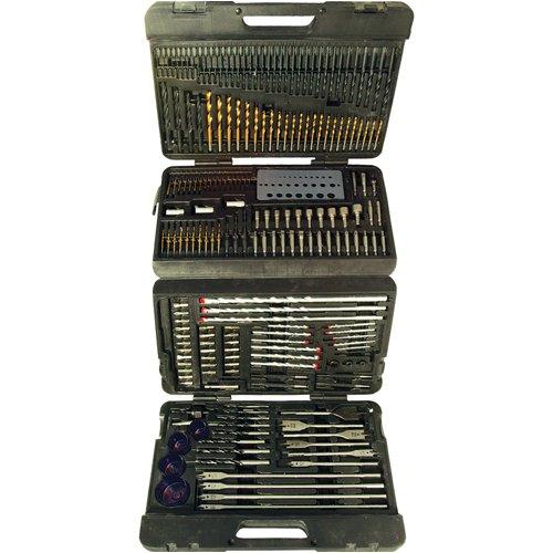 Mallette de 204 accessoires perceuse assortis Silverline 868762