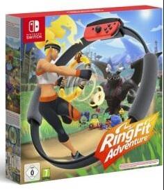 Ring Fit Adventure sur Nintendo Switch (Via 10 € sur la Carte de Fidélité ) - Epagny (74)