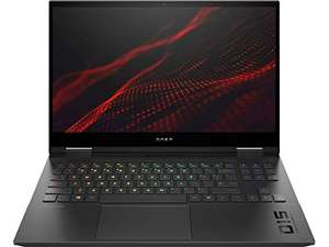 "PC Portable 15.6"" HP Omen15-ek0006ns - Full HD 300Hz, i7-10750H, 16 Go RAM, 1 To SSD, RTX 2070, Sans OS, QWERTY Espagnol"