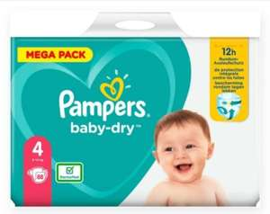 Paquet de couches Pampers Baby-Dry Pants (Taille 4, 88 couches) - Match Maubeuge (59)