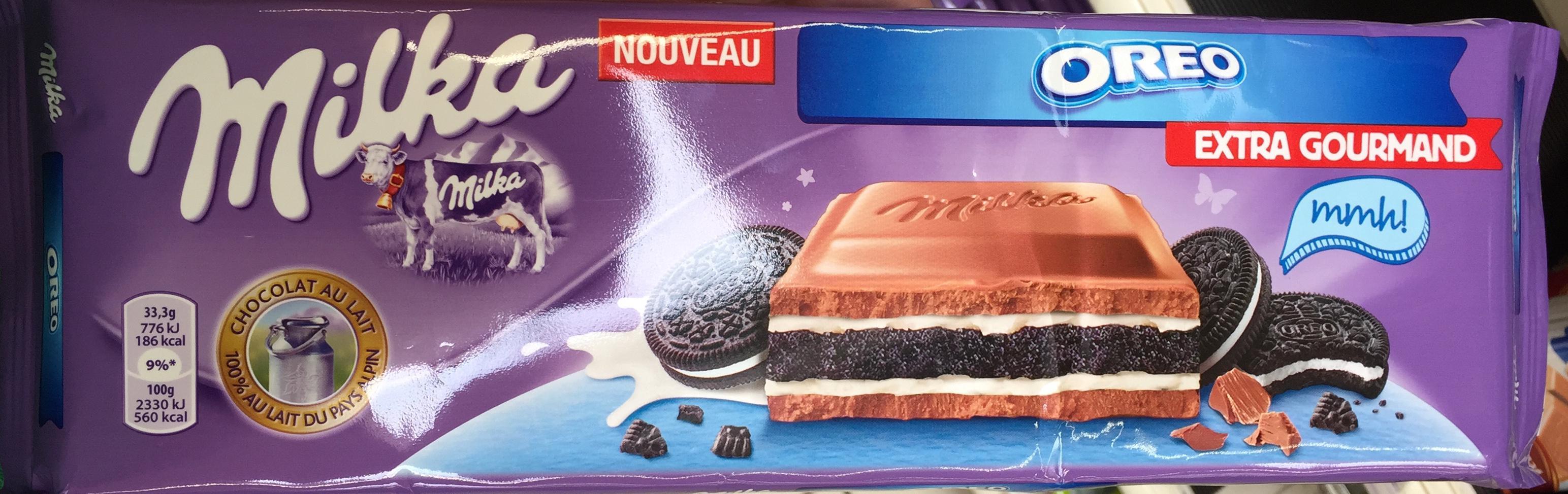 Tablette chocolat Milka Extra Gougmand (via BDR de 1.20€)