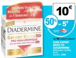 Diadermine soin expert rides 3D (pot de 50 ml)