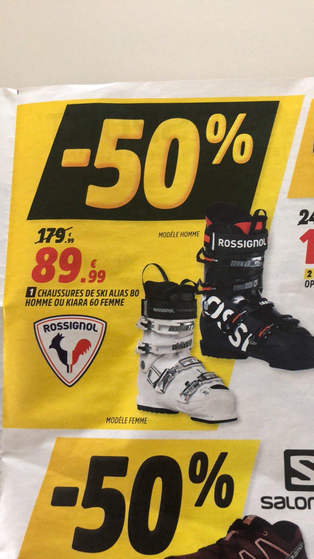 Chaussures de Ski Rossignol Alias 80 ou Kiara 60