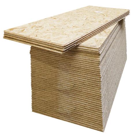 Dalle de plancher OSB 3 - ép. 18 mm, 205 x 62,5 cm (le m²)