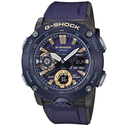 Montre analogique Casio G-Shock (GA-2000-2AER) - bleu
