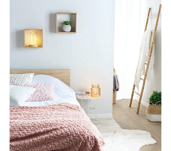 Echelle porte serviette en bambou