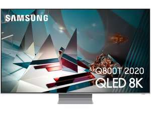 "TV 65"" Samsung QE65Q800TA (2020) - Quantum Processor 8K, Full LED Local Dimming Gold+ (Via ODR de 248.17€)"
