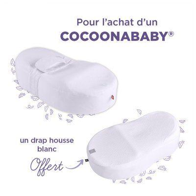 Nid bébé Cocoonababy (Blanc) + drap housse