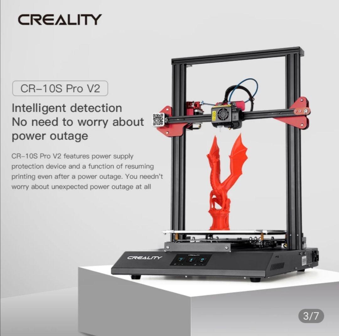 Imprimante 3D Creality CR10S Pro V2 (Entrepôt EU)