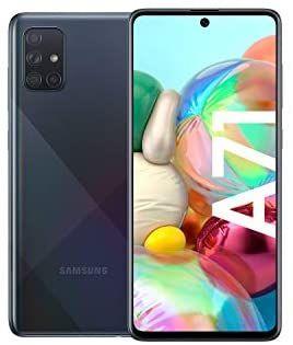"""Smartphone 6.7"""" Samsung Galaxy A71 - full HD+, SnapDragon 730, 6 Go de RAM, 128 Go (version allemande)"""