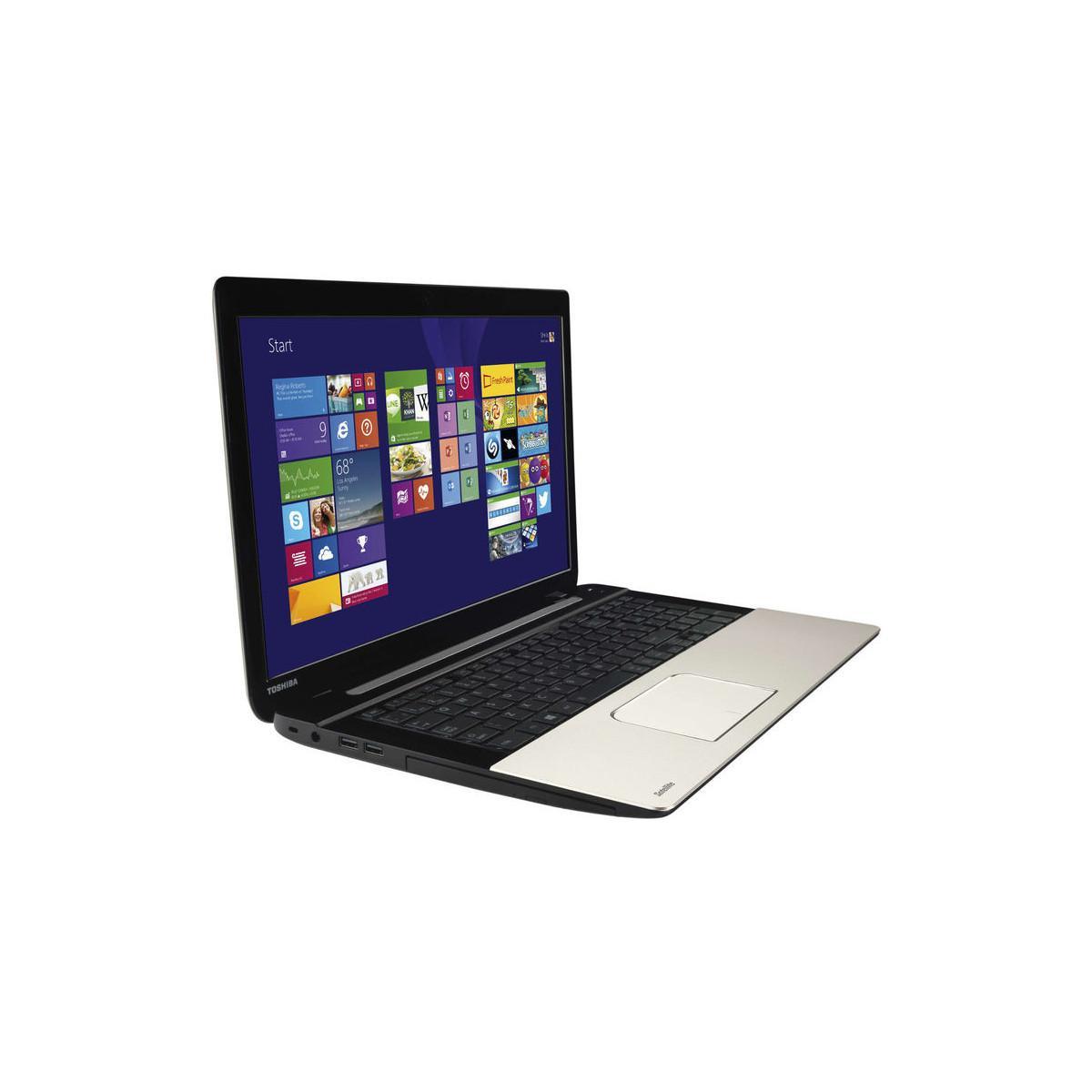 "PC Portable 17.3"" Toshiba Satellite L70-B-10W - Intel i3-4005U, 4 Go de Ram, 750 Go, AMD Radeon R7 M260"
