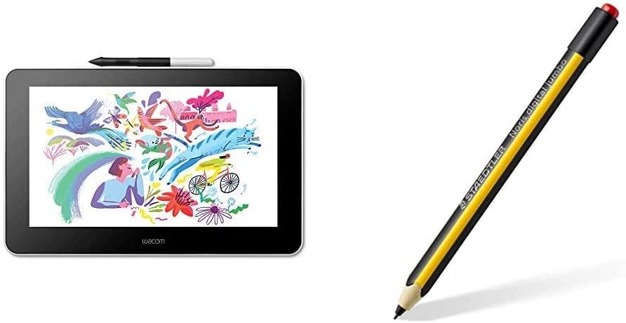 "Tablette Graphique 13.3"" (FHD) Wacom One Creative Pen + Stylet Staedtler Digital Jumbo"