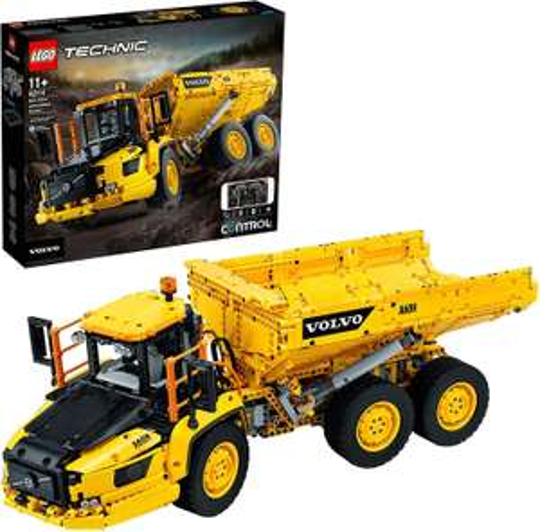 Jeu de construction Lego : Le tombereau articulé Volvo 6x6 n°42114
