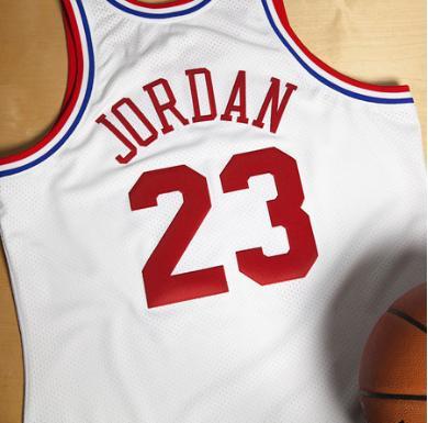 Maillot de  Michael Jordan de 1991 (Taille S et XL)
