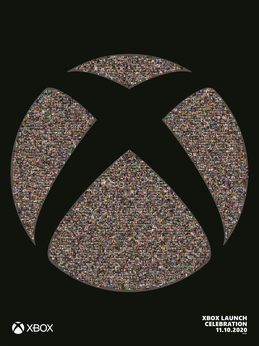 Poster Xbox Fan Mosaic gratuit - 45.72x60.96 cm