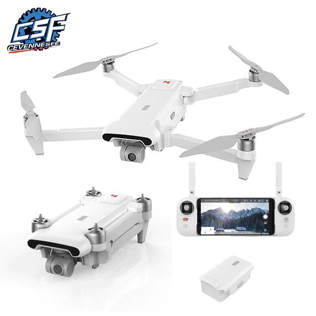 Drone quadricoptère Xiaomi FIMI X8 SE 2020 - Caméra 4K, Stabilisation 3 axes, Portée 8 km, 65 km/h, Autonomie 35 min