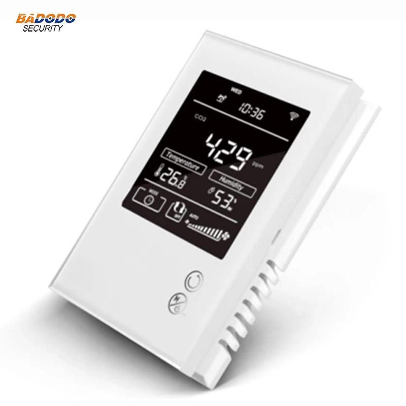 Capteur d'humidité, température et Co2 McoHome avec écran Z-Wave+ (77.04€ avec le code 10AEFR1111)