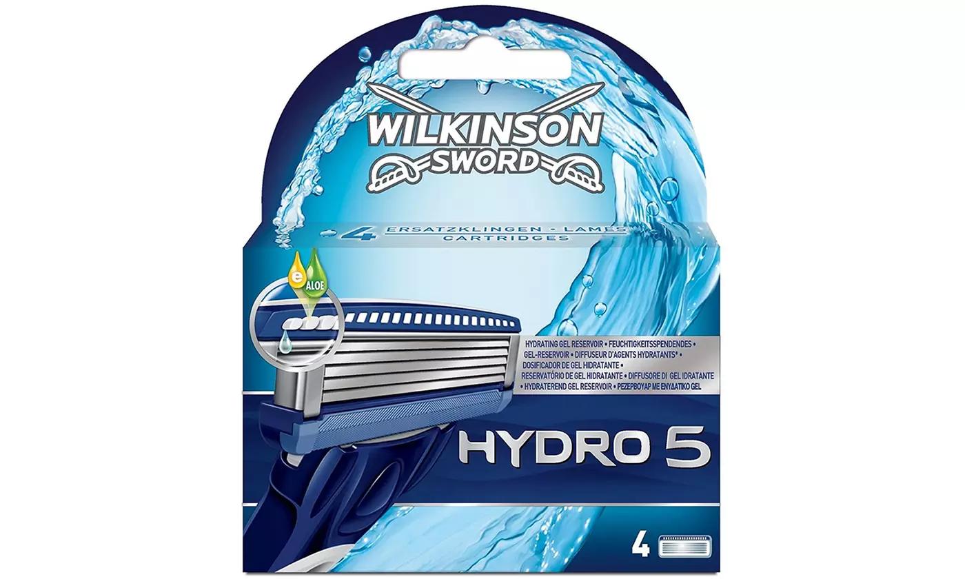Lot de 4 Lames Wilkinson Hydro 5 Sword