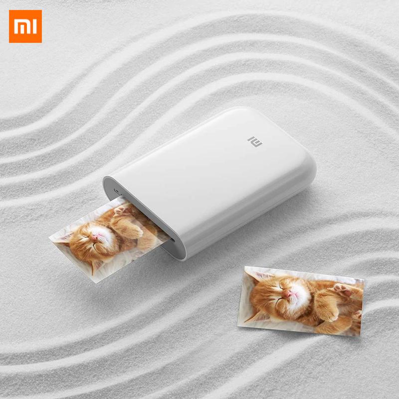 Imprimante photo portable Xiaomi Blanc + Pack de 20 Photos (45.72€ avec le code PEPPERAE1111)